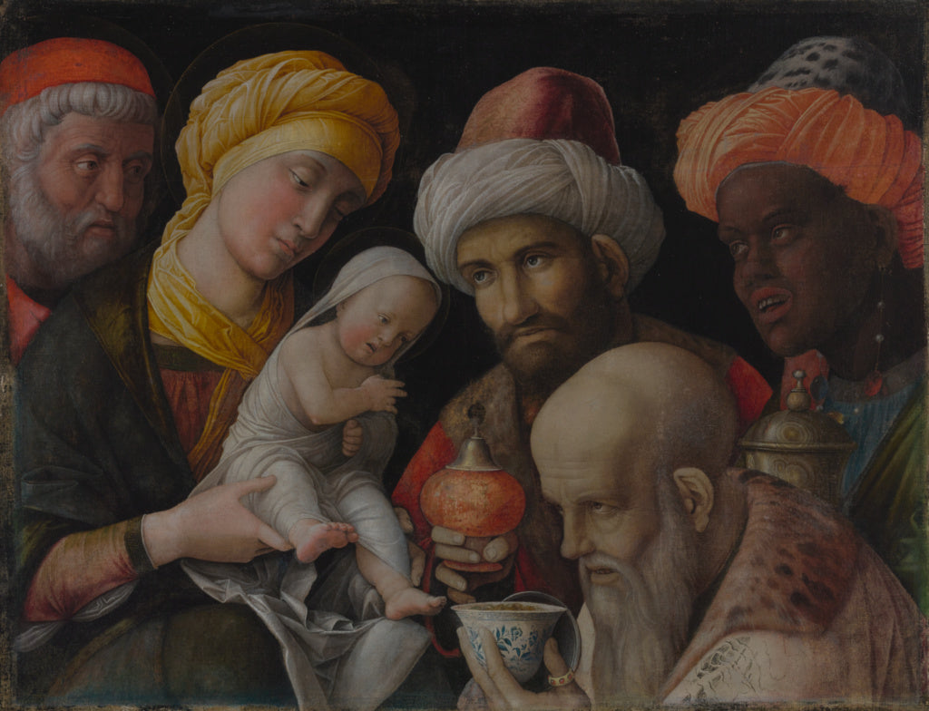 Andrea Mantegna:Adoration of the Magi,16x12
