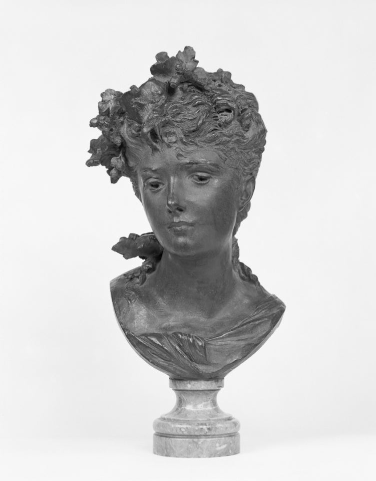 "Unknown Faker of Auguste Rodin:Bust of a Young Woman,16x12""(A3)Poster"