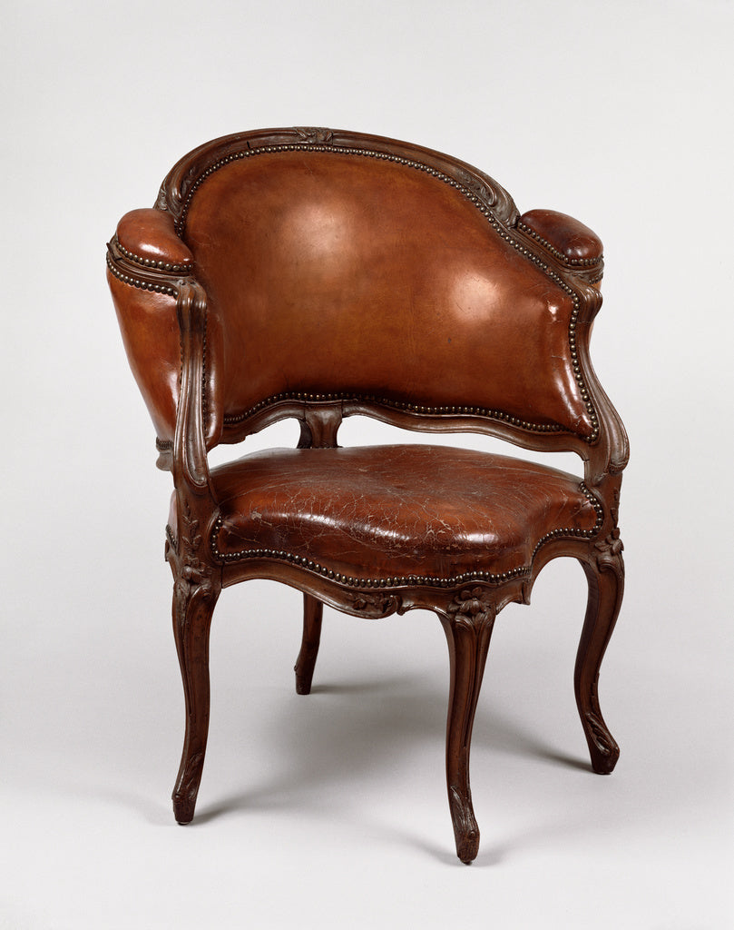 etienne MeunierAttributed to:Desk Chair (Fauteuil de cabinet,16x12