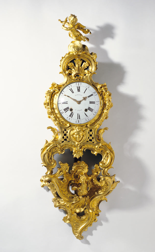 Jean RomillyClock movement by:Clock on Bracket (Cartel sur u,16x12