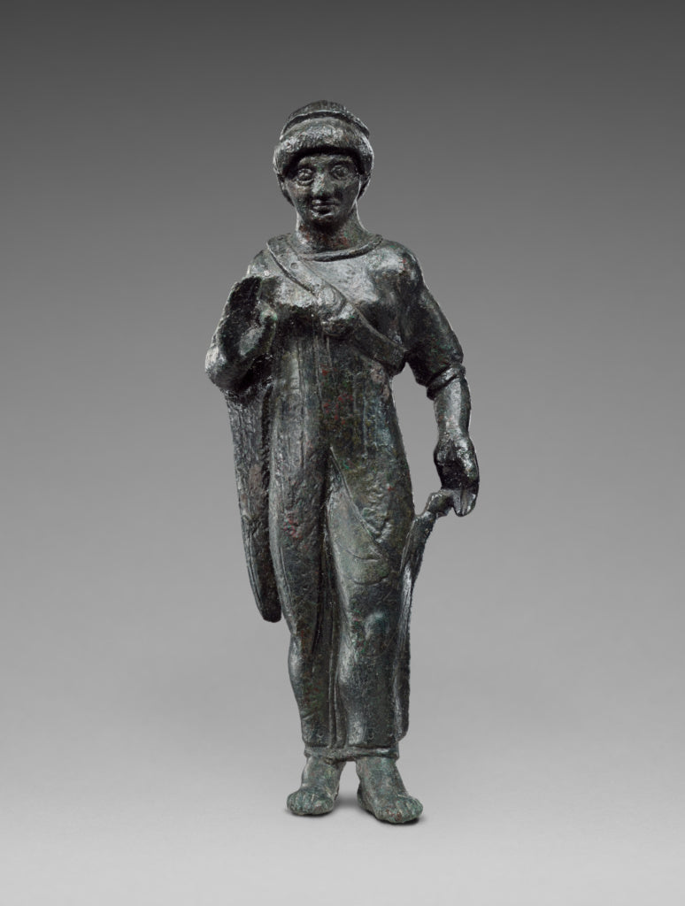 Unknown:Statuette of  Kore,16x12