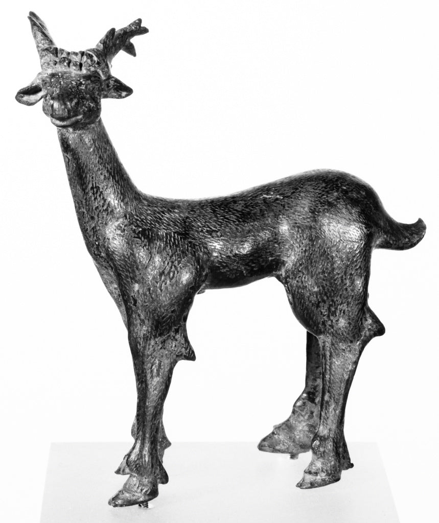 Unknown:Statuette of a Stag,16x12