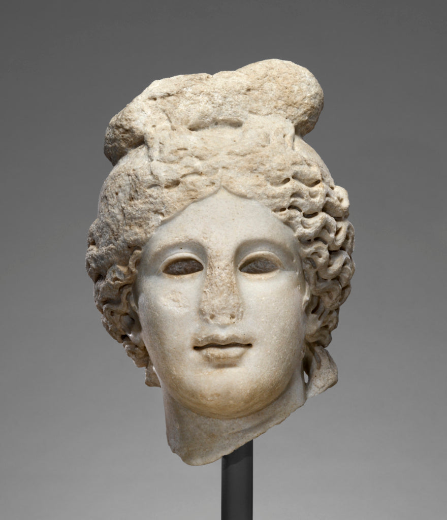 Unknown:Head of Apollo, Belvedere Type,16x12