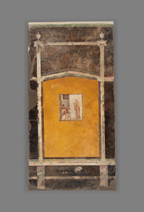 "Unknown:Wall Panel from a Black Ground Frescoed Room,16x12""(A3)Poster"