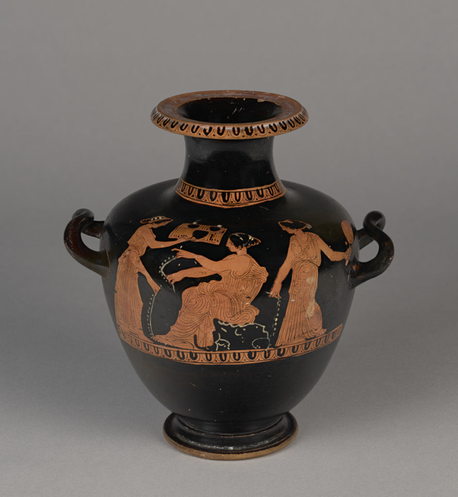 Painter of London E543Attributed to:Attic Red-Figure Hydria,16x12