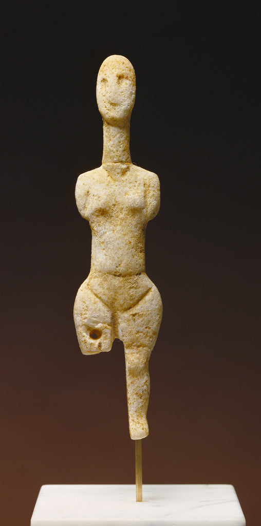Unknown:Statuette of a Female Figure,16x12