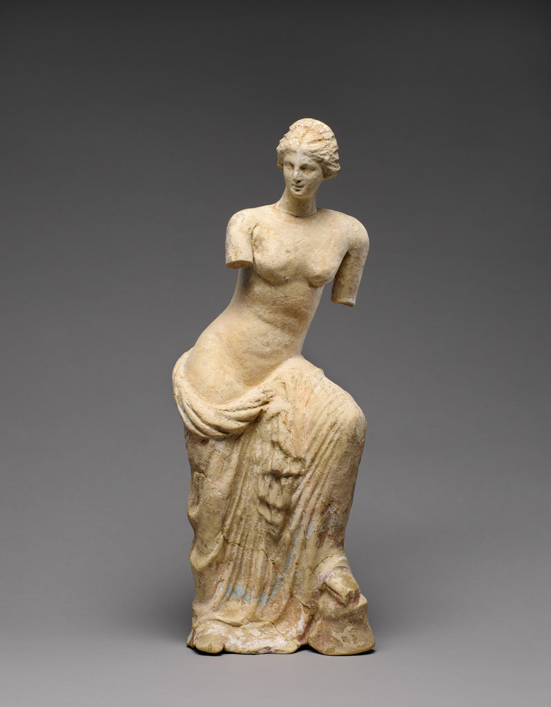 Unknown:Statuette of Aphrodite,16x12