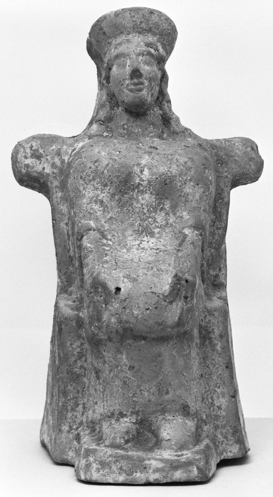 Unknown:Statuette of a Goddess,16x12