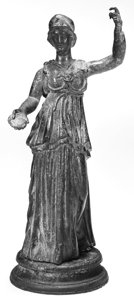 Unknown:Statuette of Minerva,16x12