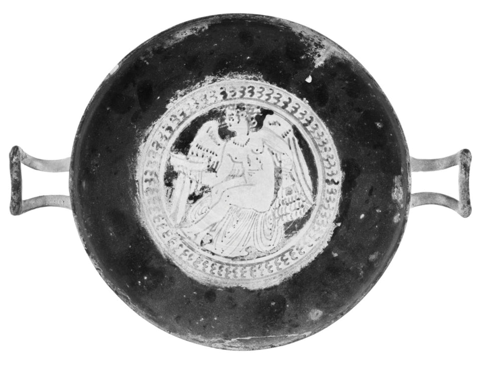 "Unknown:Etruscan Red-Figure Kylix,16x12""(A3)Poster"