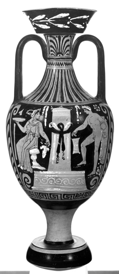 "Patera Painter:Apulian Red-Figure Amphora,16x12""(A3)Poster"