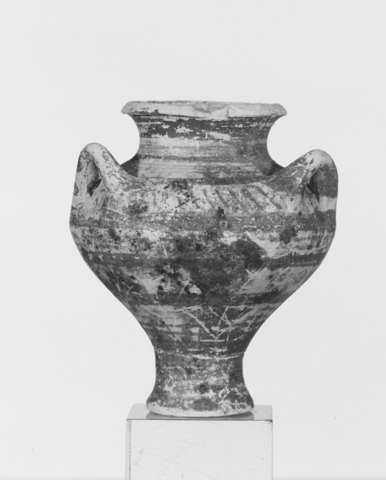 "Unknown:Mycenaean Three-Handled Jar,16x12""(A3)Poster"
