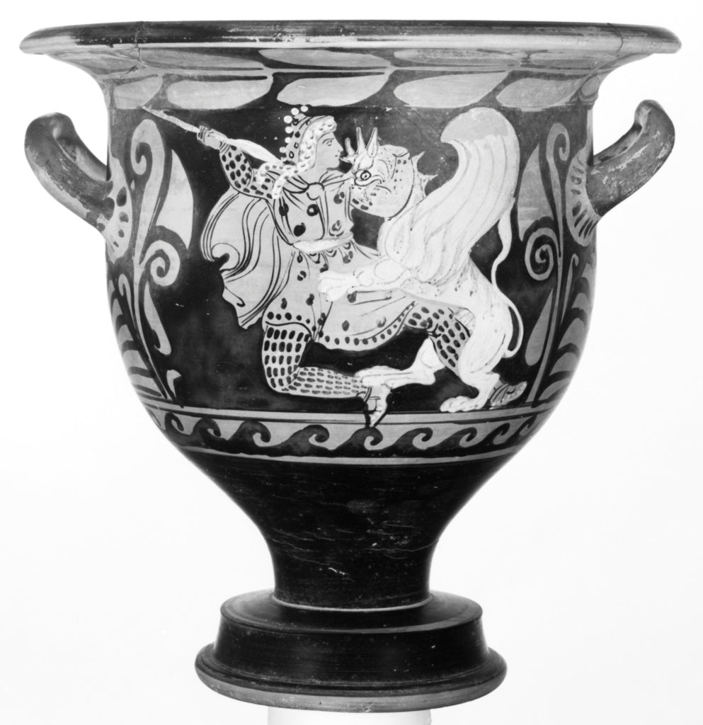 Ixion PainterAttributed to the:Campanian Bell Krater,16x12