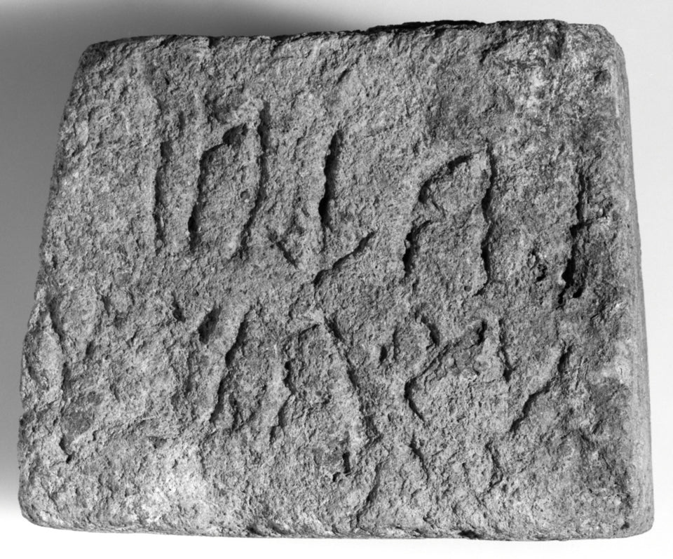 "Unknown:Funerary Cippi with Inscriptions (2),16x12""(A3)Poster"