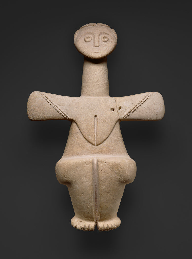 Unknown:Figure of a Fertility Goddess,16x12