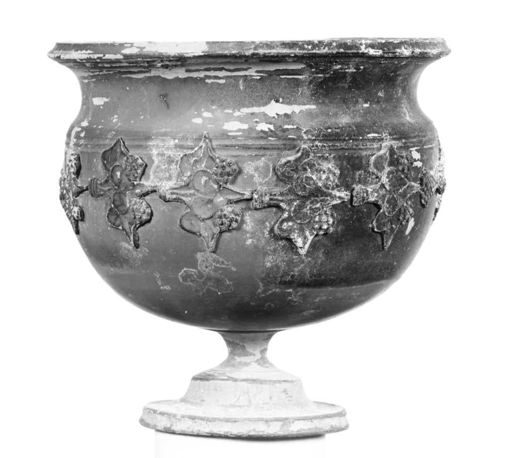Unknown:Terra Sigillata Krater with Applique Reliefs of Vine,16x12