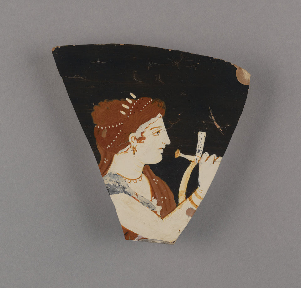"Konnakis Painter , active about 375 - 350 B.C.):Fragment of ,16x12""(A3)Poster"