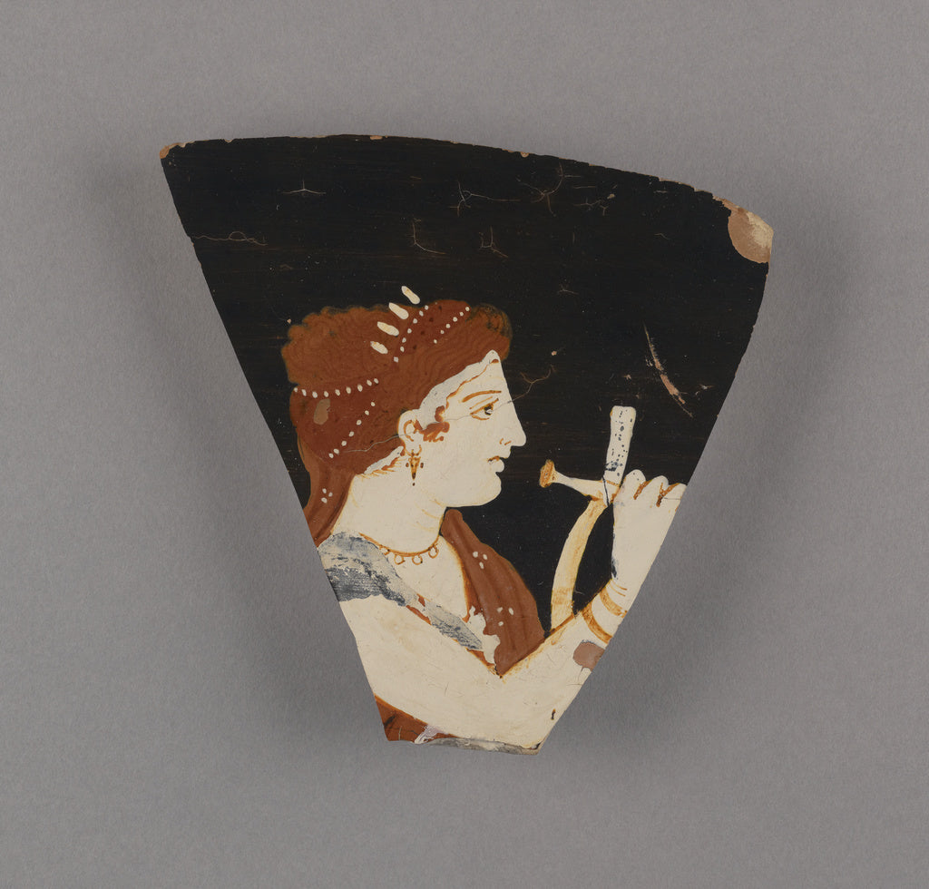 Konnakis Painter , active about 375 - 350 B.C.):Fragment of ,16x12