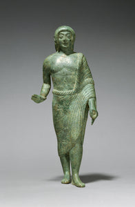 "Unknown:Statuette of a Kouros,16x12""(A3)Poster"