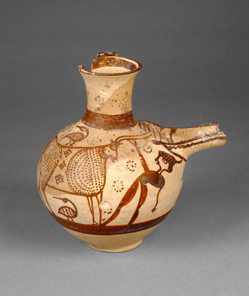 Painter 20Attributed to:Mycenaean Sieve Jug,16x12