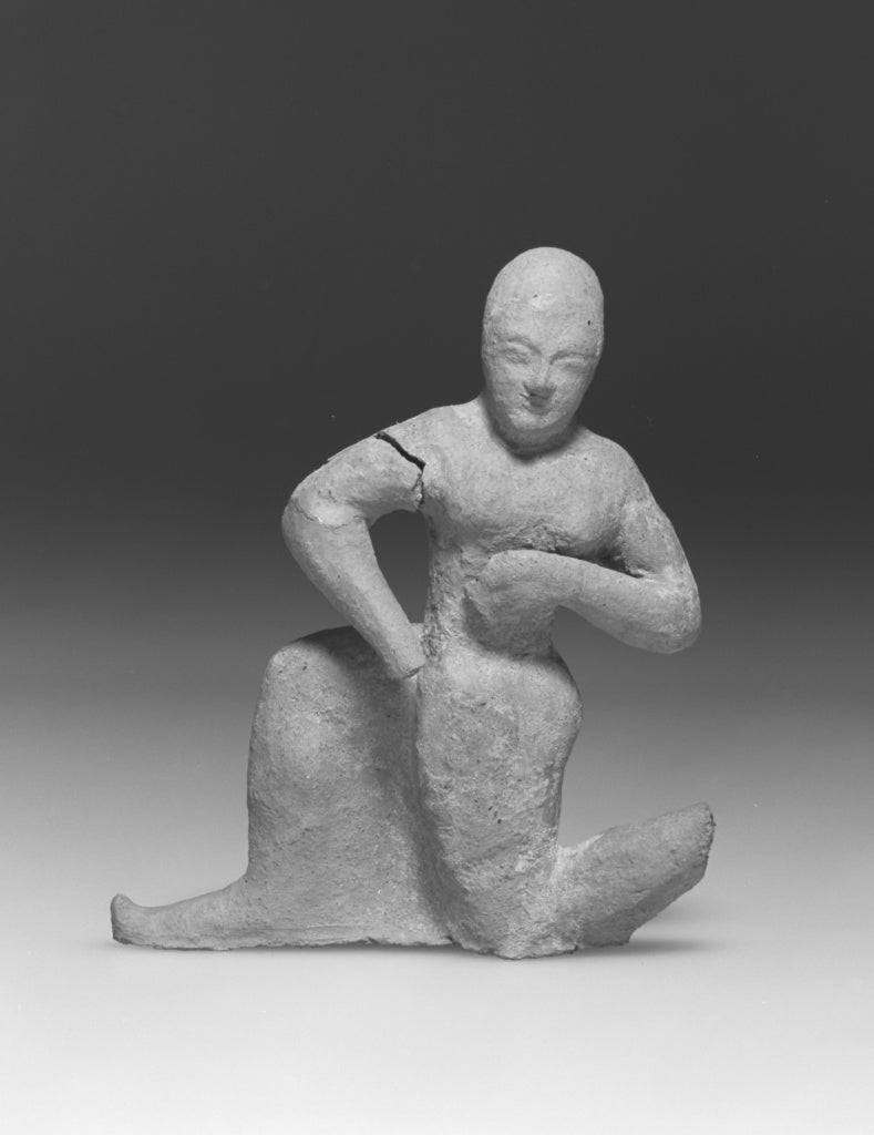 Unknown:Imitation of an Etruscan Terracotta Figure of a Runn,16x12