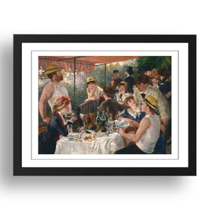 P Renoir - Luncheon Of The Boating Party [1881], A4 size (8.27 × 11.69 inches) Poster