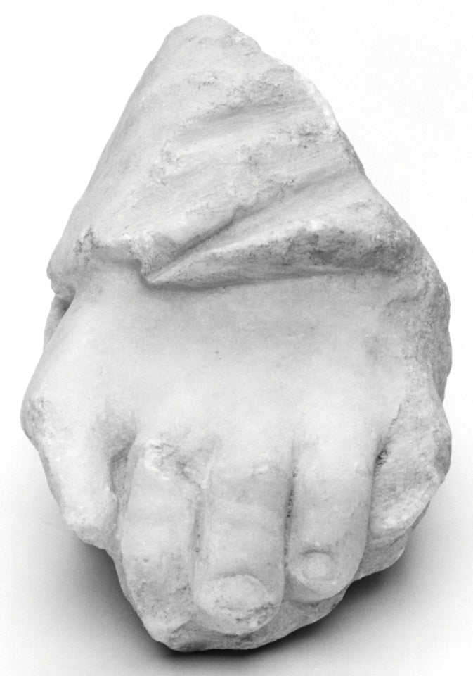"Unknown:Fragment of a Sculpture: Foot,16x12""(A3)Poster"