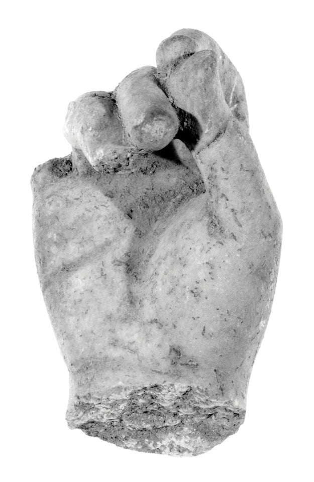"Unknown:Statue Fragment: Hand,16x12""(A3)Poster"