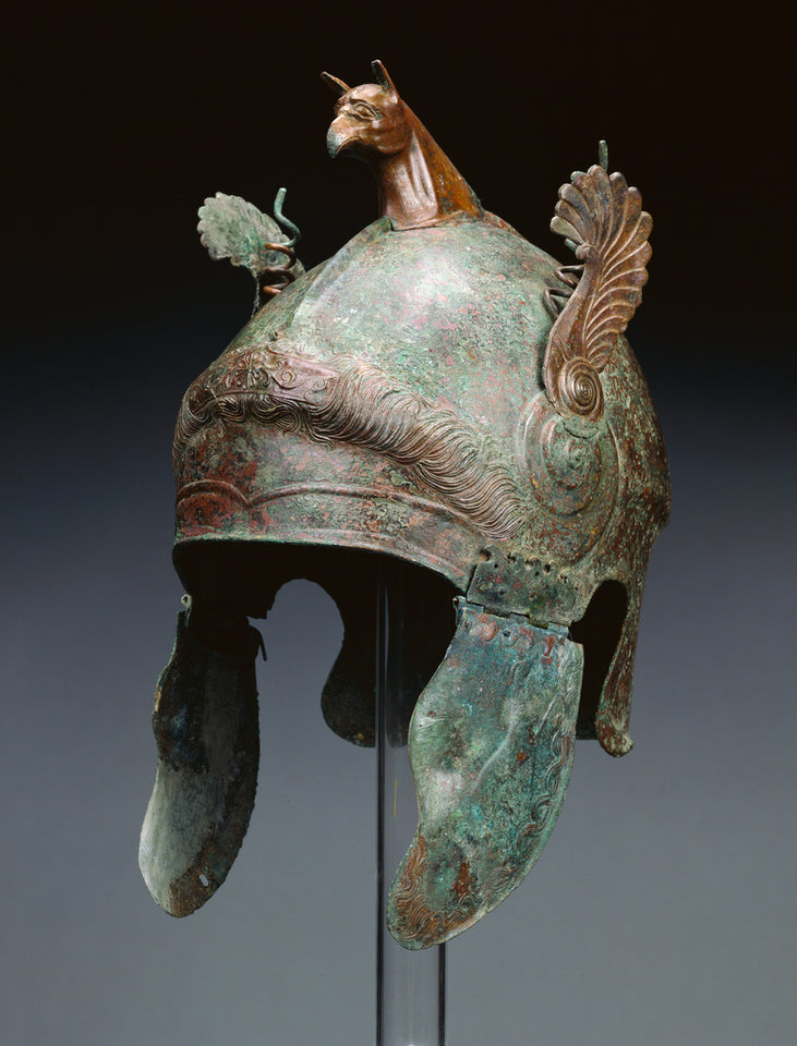 "Unknown:Helmet of Chalcidian Type,16x12""(A3)Poster"