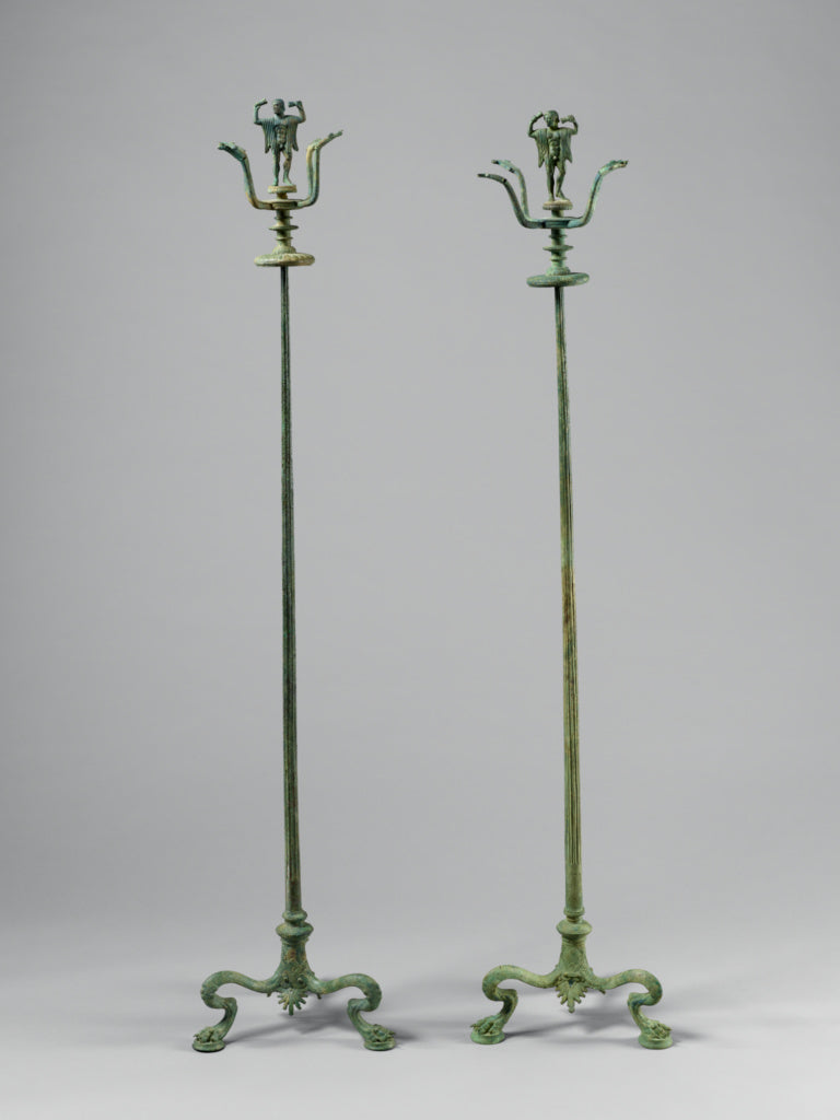 Unknown:Candelabrum with a Dancer,16x12