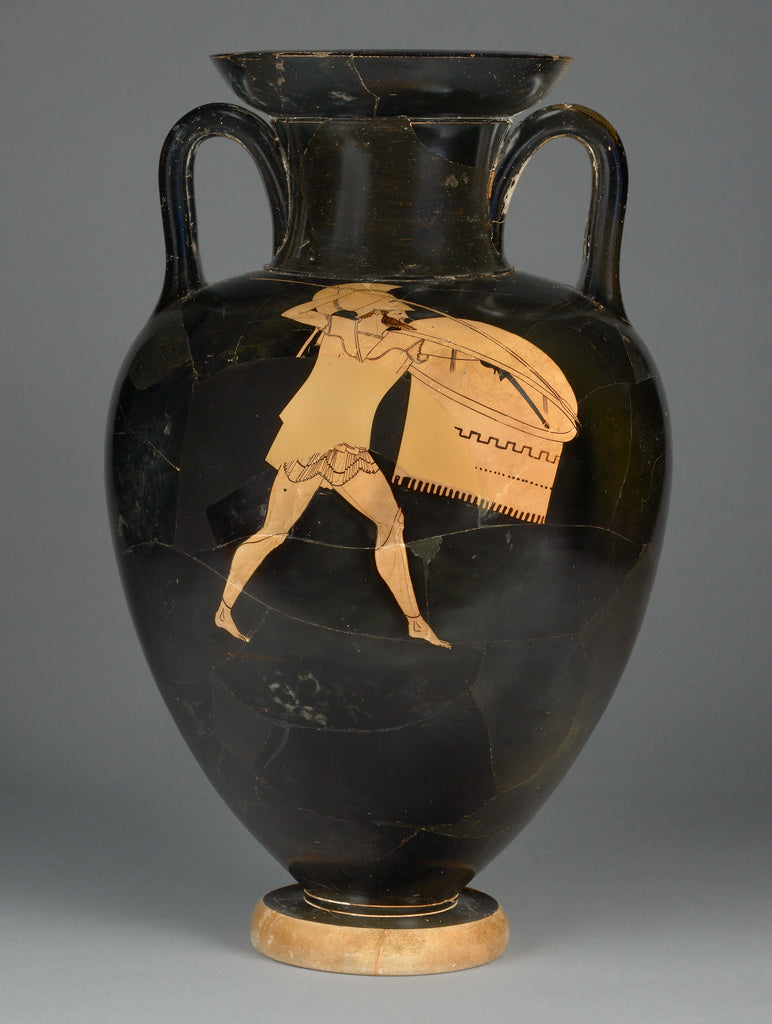 Berlin PainterAttributed to the:Attic Red-Figure Amphora,16x12