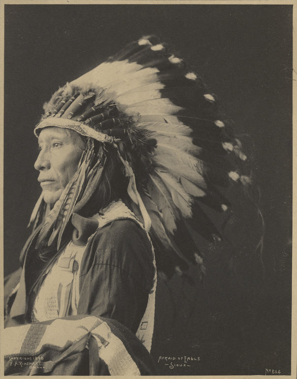 Adolph F. Muhr:Afraid of Eagle, Sioux,16x12
