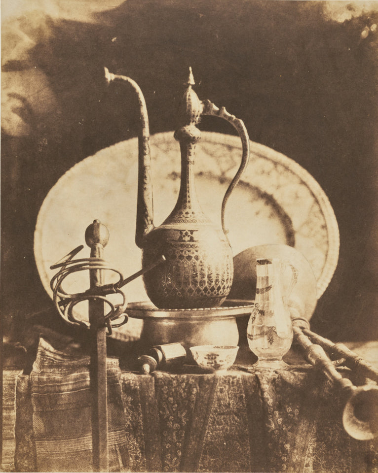 "Louis-Rémy Robert:[Still Life with Orientalist Objects],16x12""(A3)Poster"