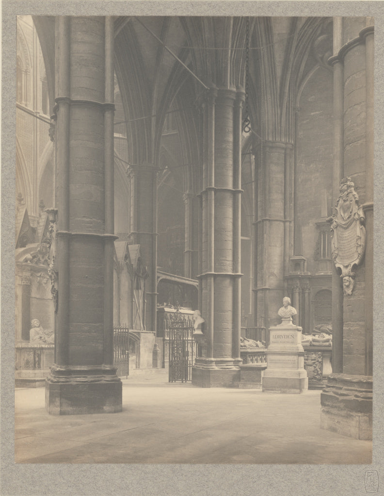 Frederick H. Evans:[Westminster Abbey - In the South Transep,16x12