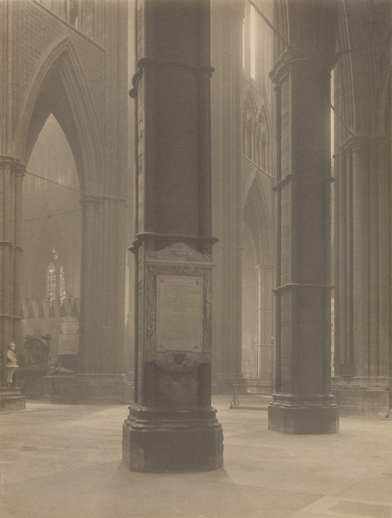 Frederick H. Evans:[Westminster Abbey from the South Transep,16x12