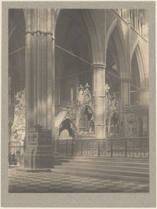 "Frederick H. Evans:[Westminster Abbey, Gates to the Sanctuar,16x12""(A3)Poster"