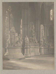 "Frederick H. Evans:[Westminster Abbey, North Transept West S,16x12""(A3)Poster"