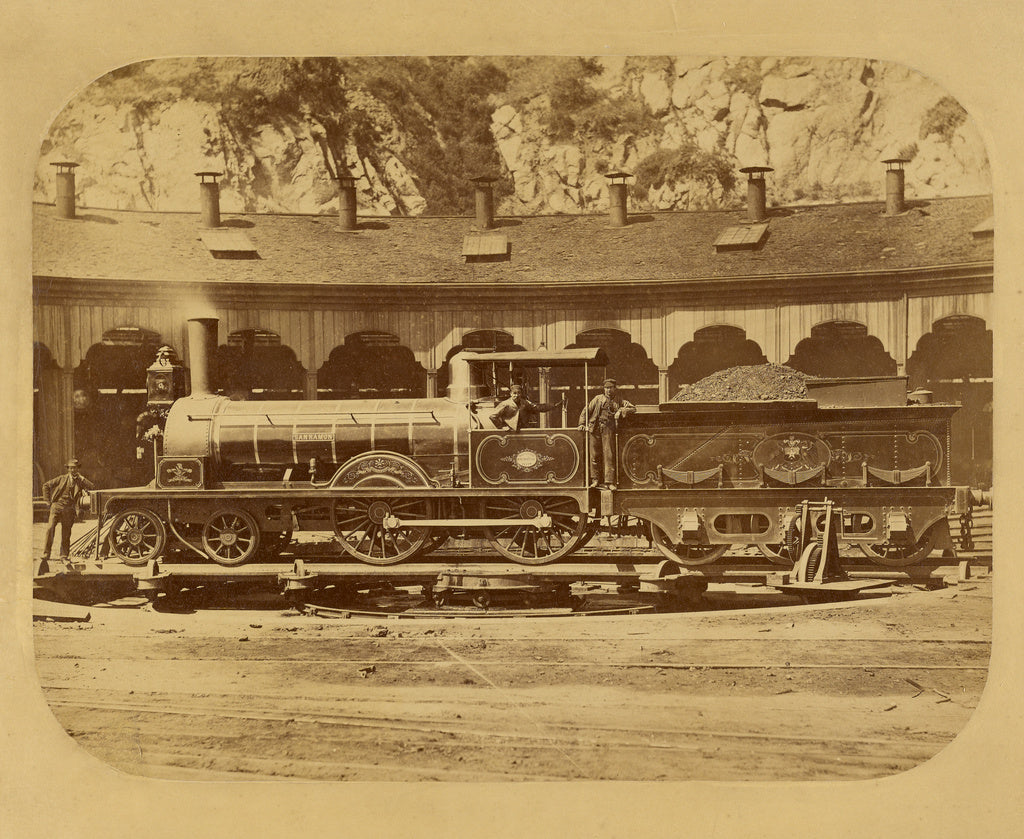 Bischoff & Spencer:[The Locomotive San Ramon],16x12