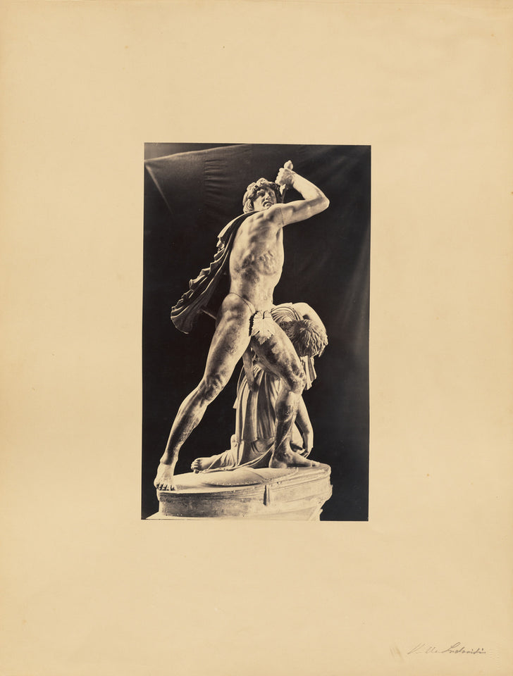 "James Anderson:[classical sculpture, man with slave],16x12""(A3)Poster"