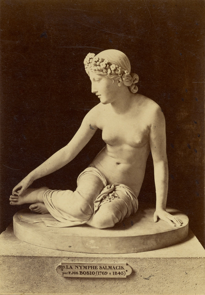 Tommaso Cuccioni:[The Nymph Salmacis, by Bosio],16x12
