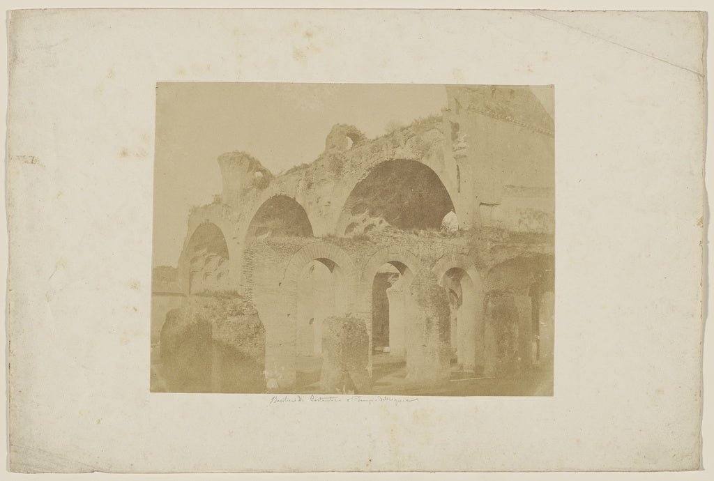 Unknown maker, Italian:[Basilica of Maxentius and Constantin,16x12