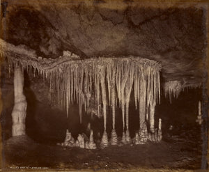 "Charles Smith Wilkinson:Nellie's Grotto - Jenolan Caves,16x12""(A3)Poster"