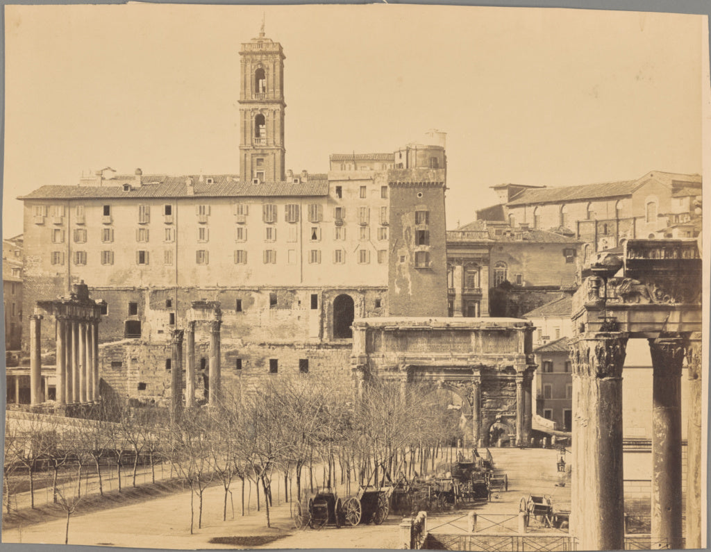 Unknown maker, Italian:[The Roman Forum],16x12