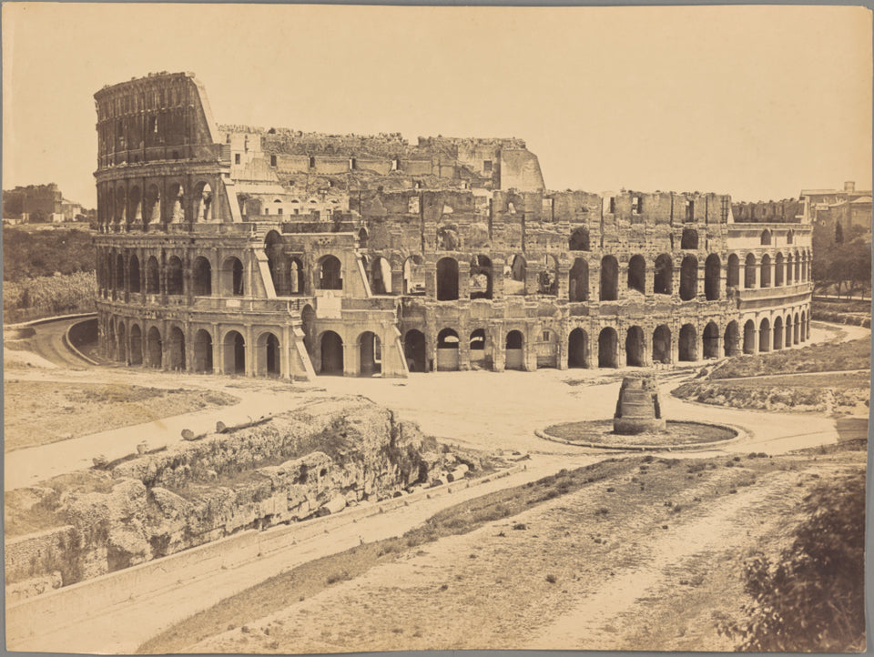 "Unknown maker, Italian:[Colosseum, Rome],16x12""(A3)Poster"