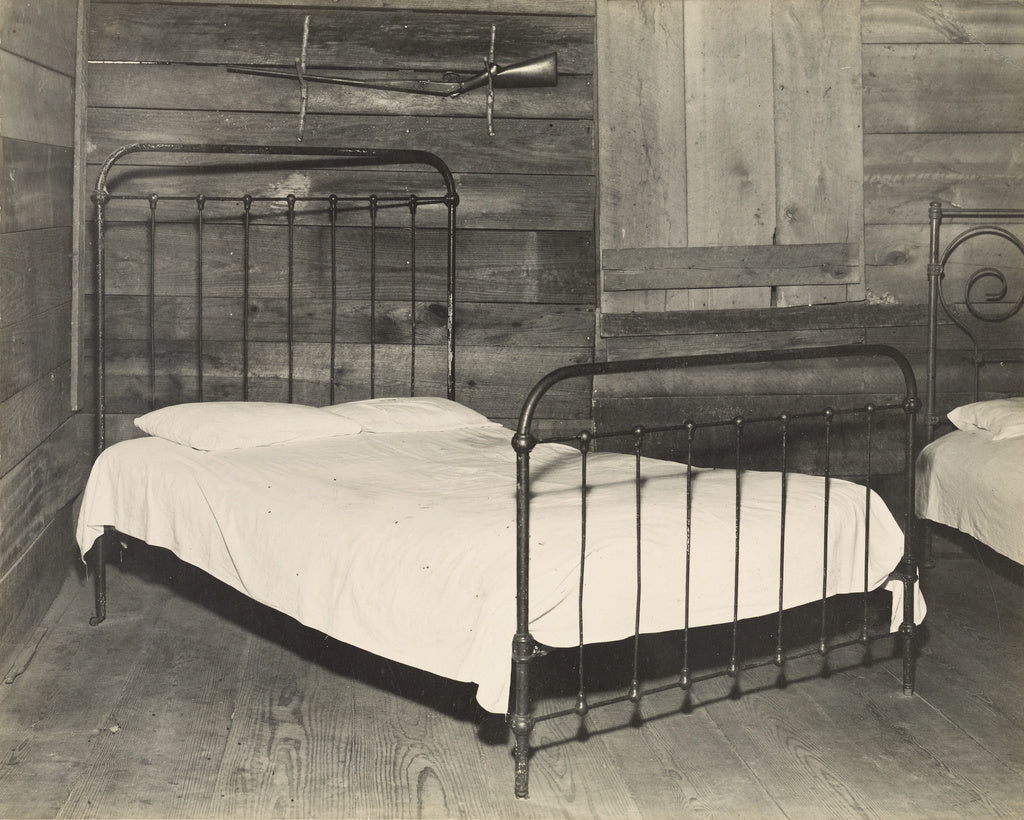Walker Evans:Bed, Tenant Farmhouse, Hale County, Alabama / F,16x12
