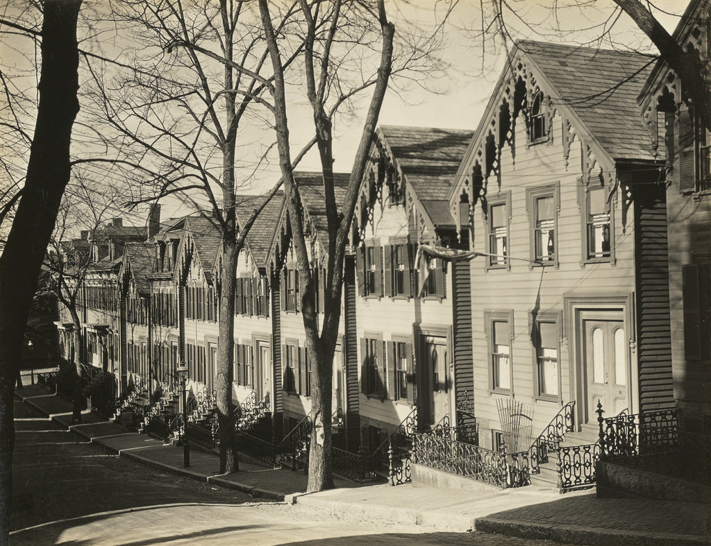 Walker Evans:South Boston Street / Wooden Houses, Boston,16x12