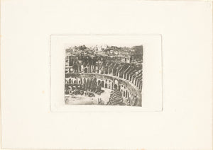 "William Henry Fox Talbot:[The Colosseum, Rome],16x12""(A3)Poster"