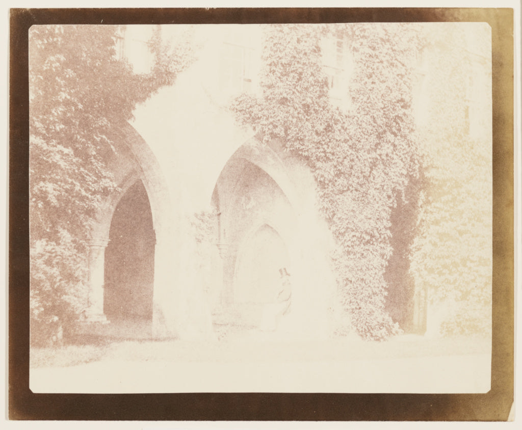William Henry Fox Talbot:[The Ancient Vestry, Lacock Abbey, ,16x12