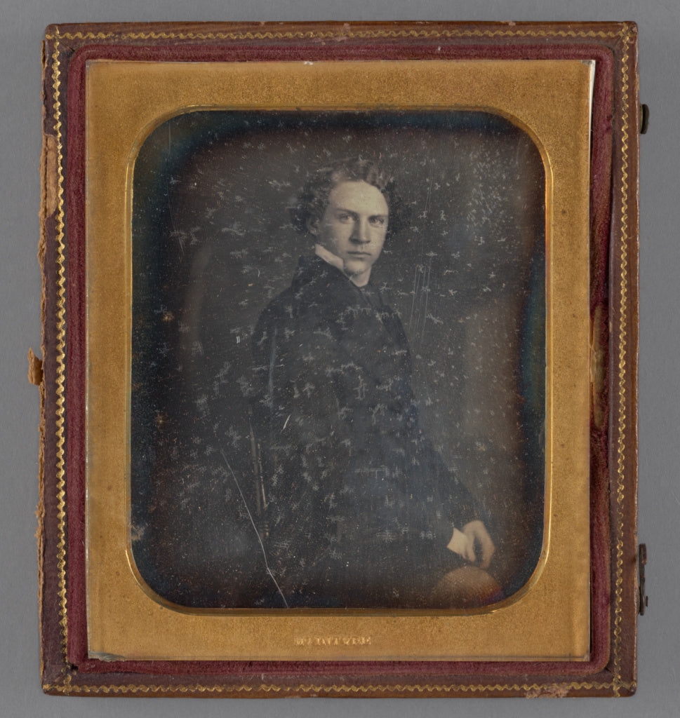 Sterling C. McIntyre:[Portrait of a Seated Young Man],16x12