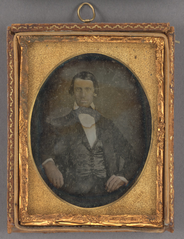 "John Plumbe Jr.:[Portrait of a Seated Young Man],16x12""(A3)Poster"
